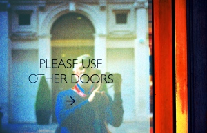 Please Use Other Doors